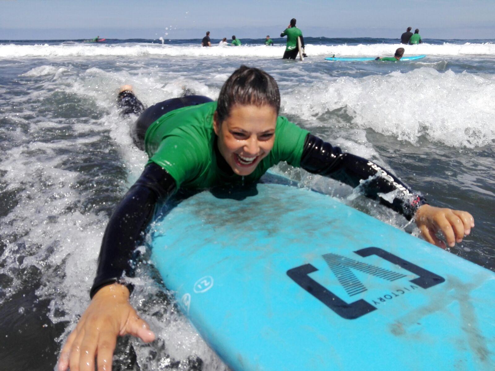 Clse de surf en rural surf