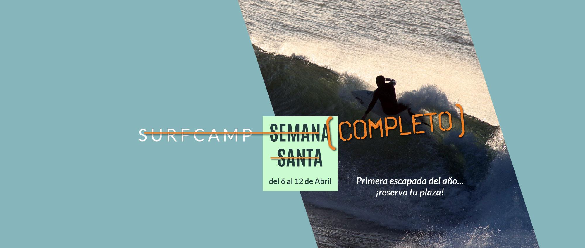 Surfcamp Semana Santa 2020